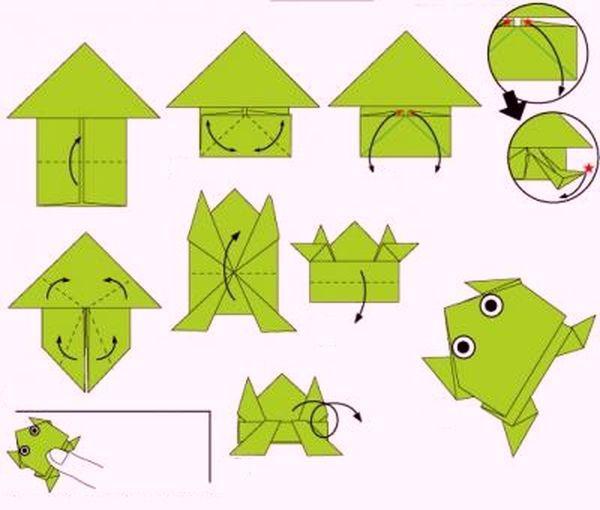 Как сделать из 1 бумаги оригами
