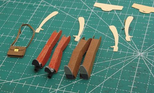 Оригами человечки: