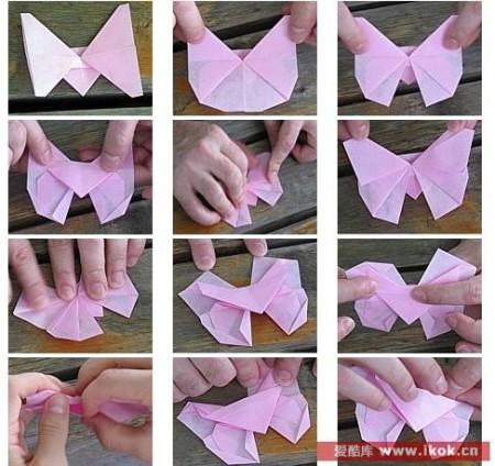 Оригами бабочка из бумаги: