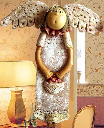 Ангелы из материала своими руками фото