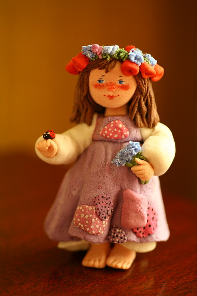 Куклы из теста своими руками фото