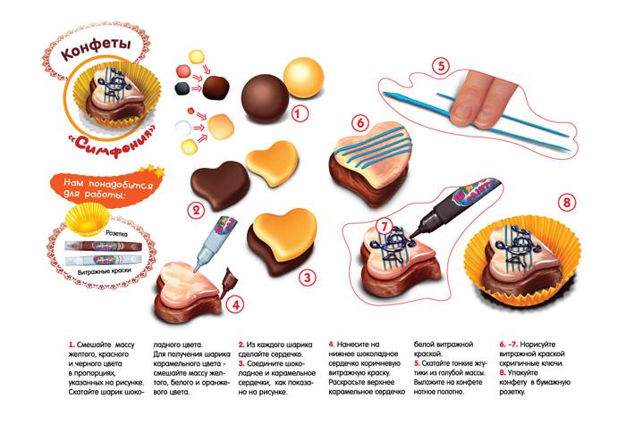 Пирожное из соленого теста своими руками мастер класс 36