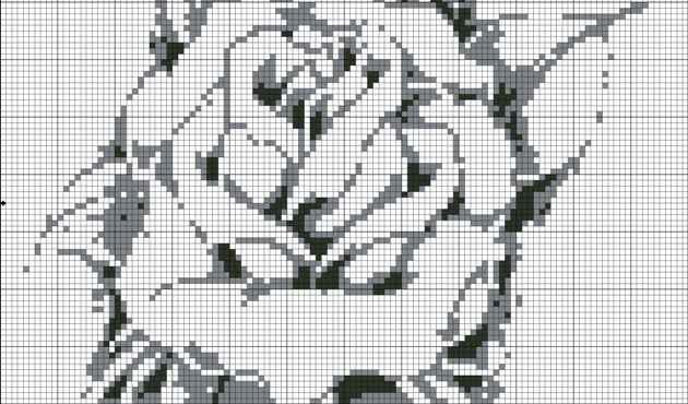 Рубрики: Вышивка крестом/цветы
