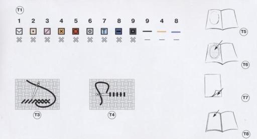 Схема вышивки крестом цифр фото 858