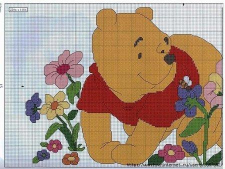 Схема вышивки для детей