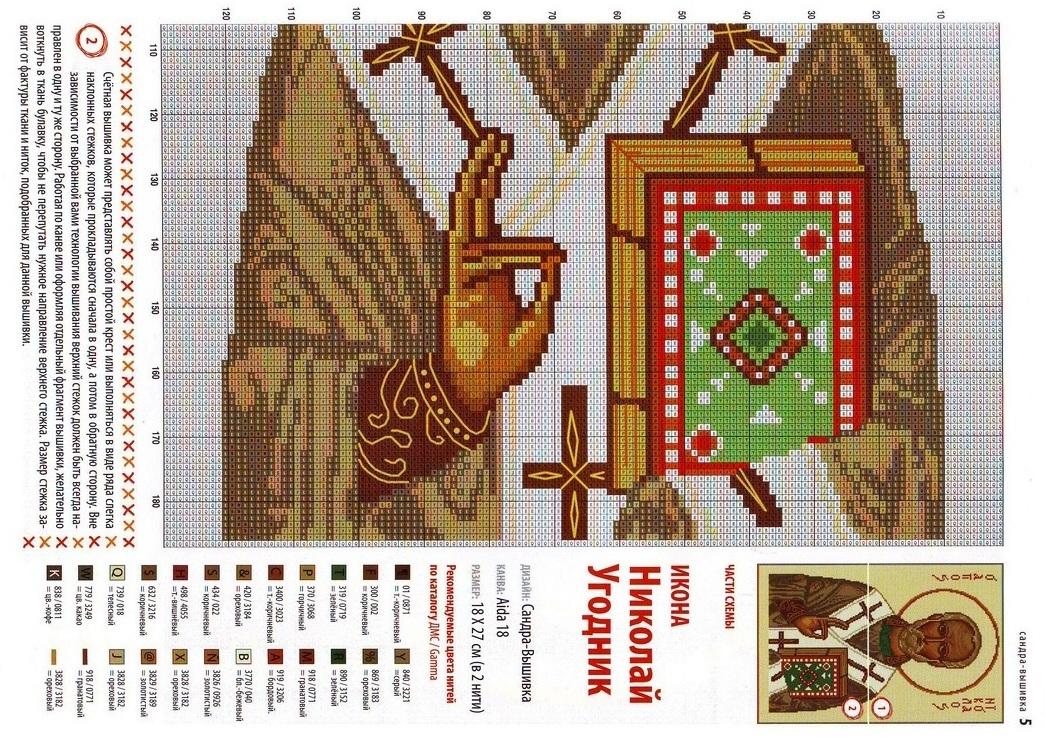 """Схема вышивки крестом: """"популярные ...: rukadelkino.ru/vyshivka/79-tri-ikony-vyshivka-krestom.html"""
