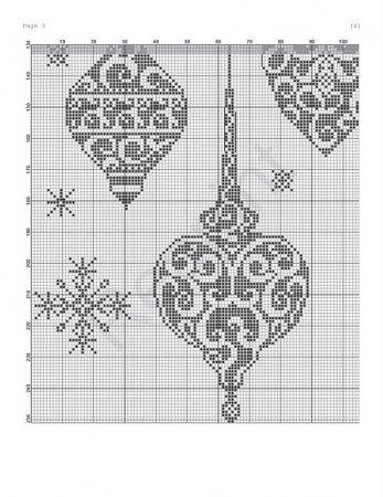Вышивка крестом коляска схема