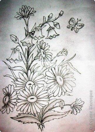 Для создания картин и салфеток, вышитых...  Часть 1 - Схемы для вышивки Лентами. http://rukadelkino.ru/vyshivka-lent...