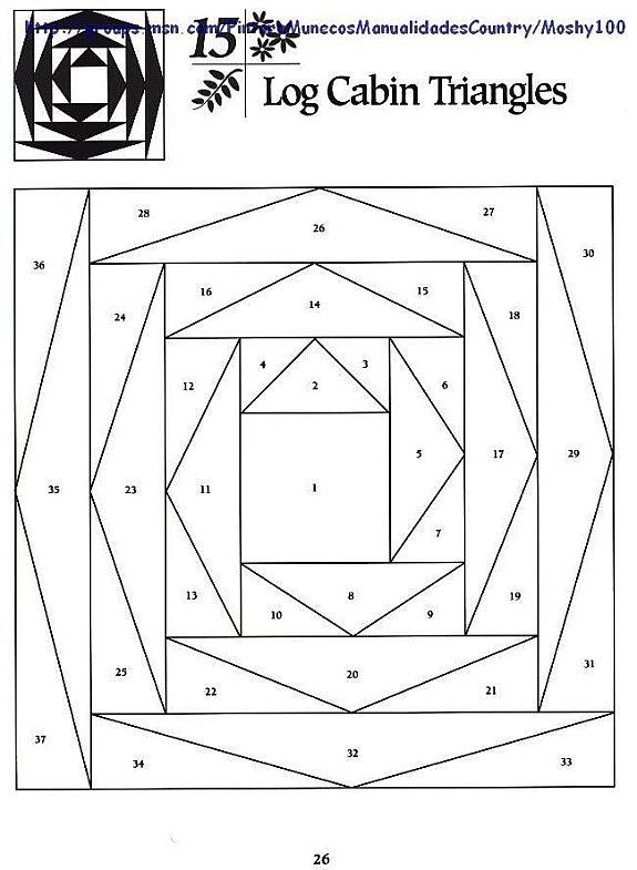 Схемы и выкройки пэчворк