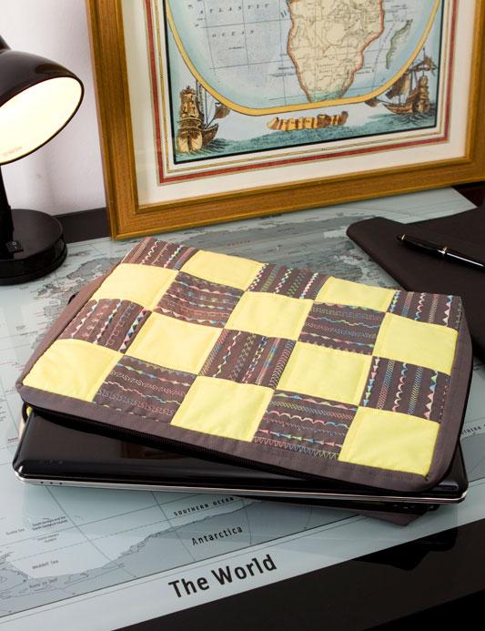 Чехол для ноутбука своими руками мастер класс