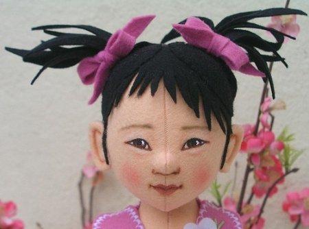 Куклы из фетра: галерея и мастер-класс по шитью от Helen Priem