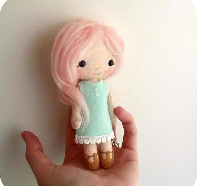 Куклы и игрушки из фетра