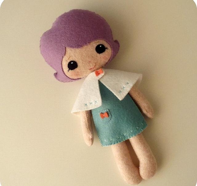 Сшить кукол из фетра 750