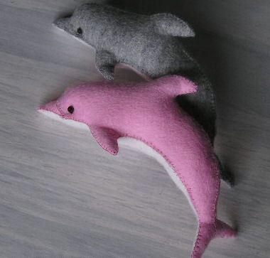 Дельфины своими руками