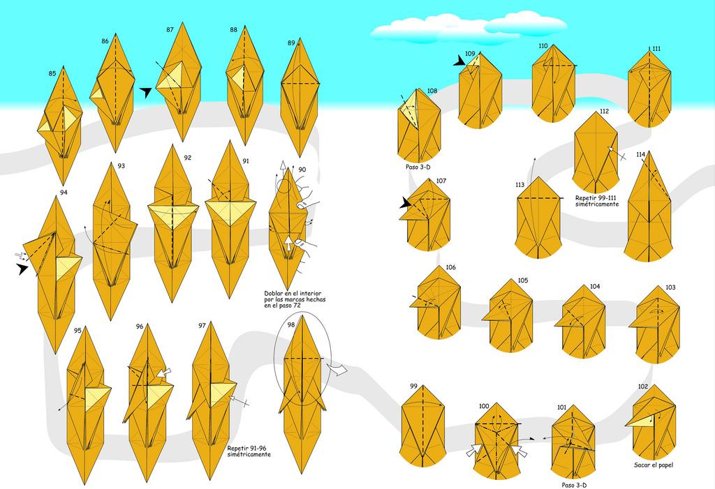 Оригами белка от Fernando