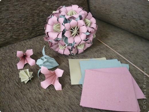 Оригами лилия из бумаги: схемы