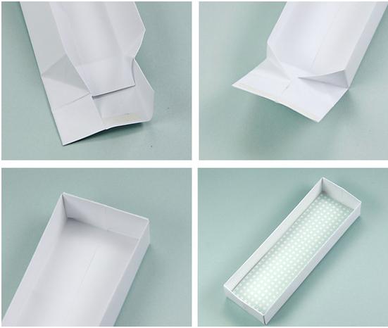 Оригами коробочка с крышкой: