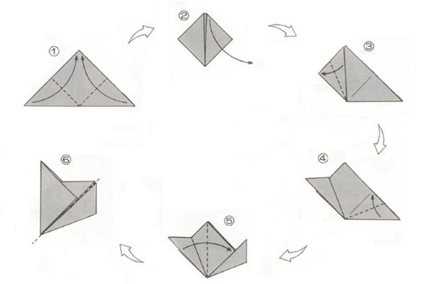 Оригами шар кусудама из