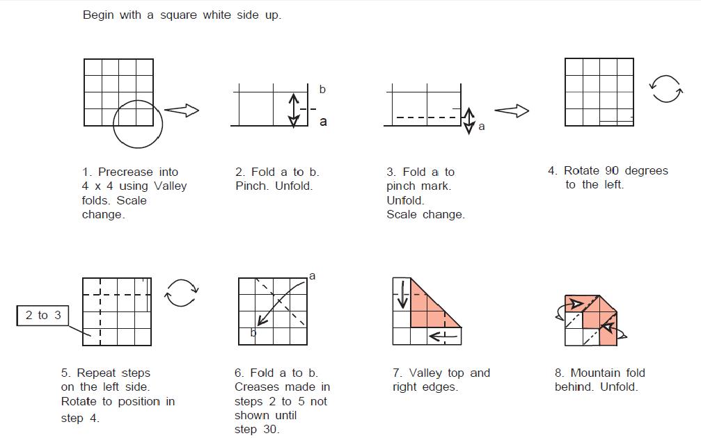 Оригами дед мороз из бумаги: