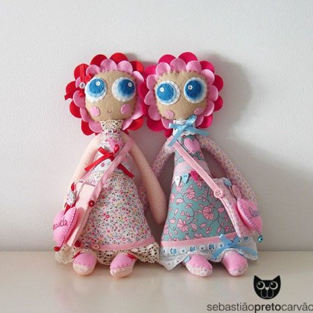 Выкройка платьев для куклы из ткани