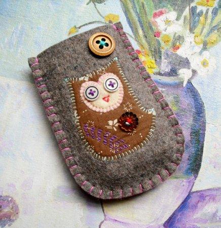 Чехлы для телефонов из ткани своими руками