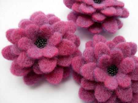 Цветы Из Фетра. Выкройка И Мастер-Класс