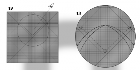 Оригами из бумаги лиса схема фото 355