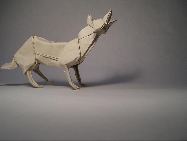Оригами звери из бумаги от