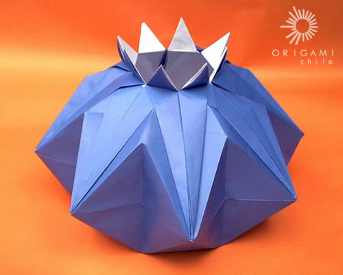 в технике оригами,