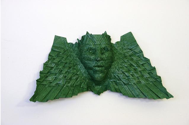 Оригами маски от джоэля