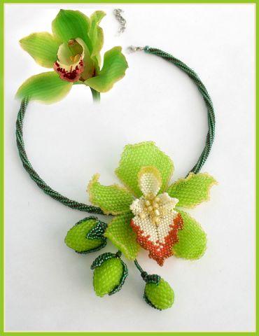 Схема для плетения цветка
