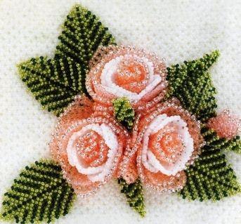 орхидея из бисера схемы плетения мастер класс