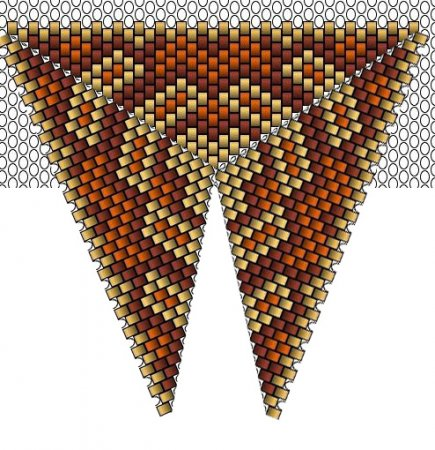 кулоны из бисера схемы плетения