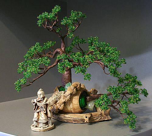 плетению необычного дерева