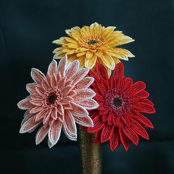Цветок для начинающих из бисера Мужские Схемы 108