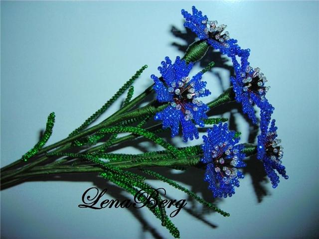 Плетение бисером цветов:
