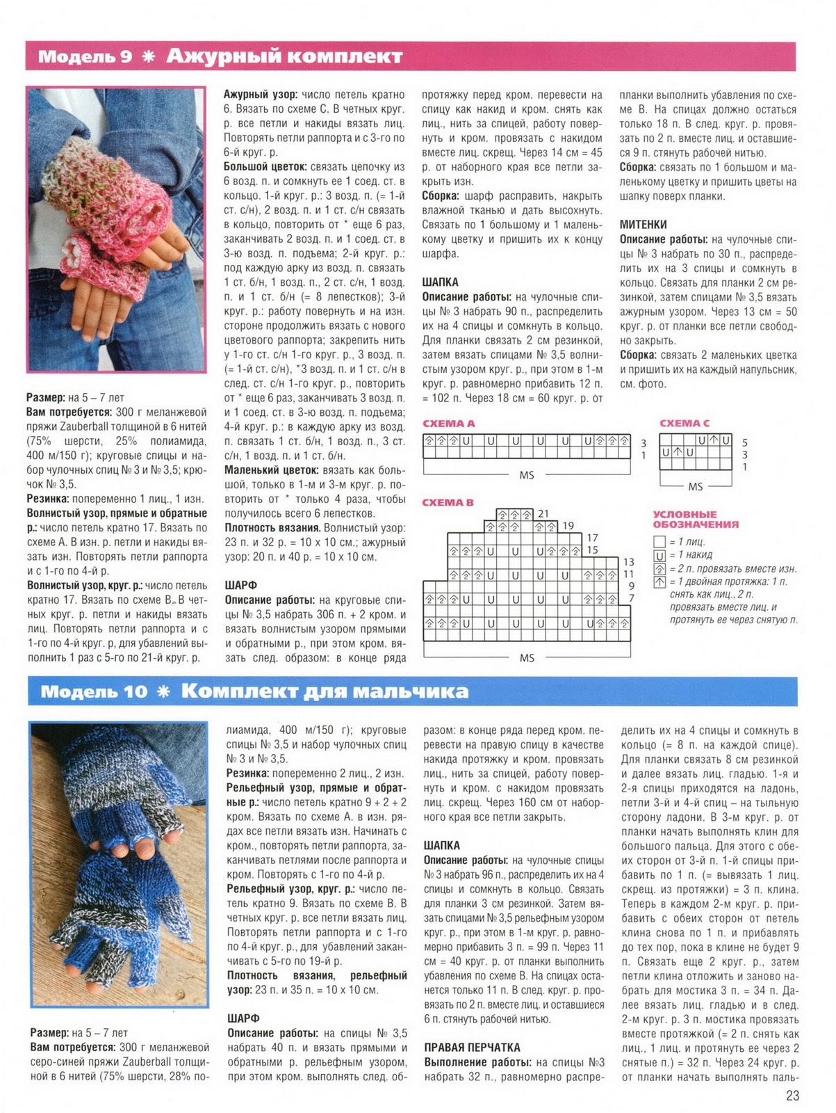 Шапка и шарф для мальчика спицами схема и описание