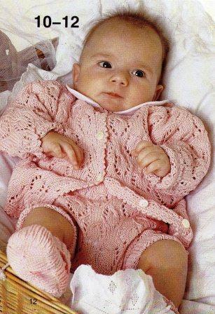Вязание детям до 1 года: