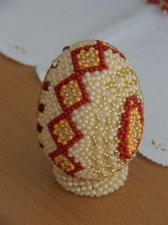 Яйцо Из Бисера – Мастер-Класс