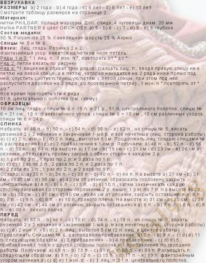 Вязание спицами - схемы и