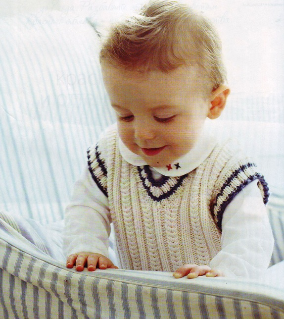 Вязание для детей: схема