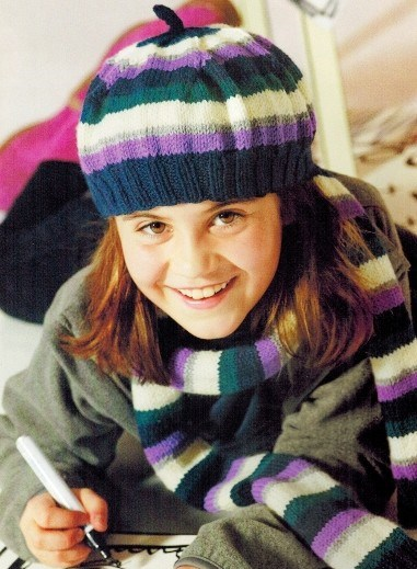 Вязание спицами шарфов для