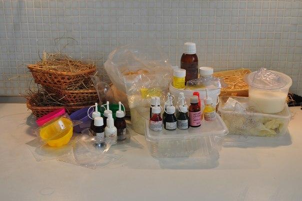 Мыло своими руками что нужно