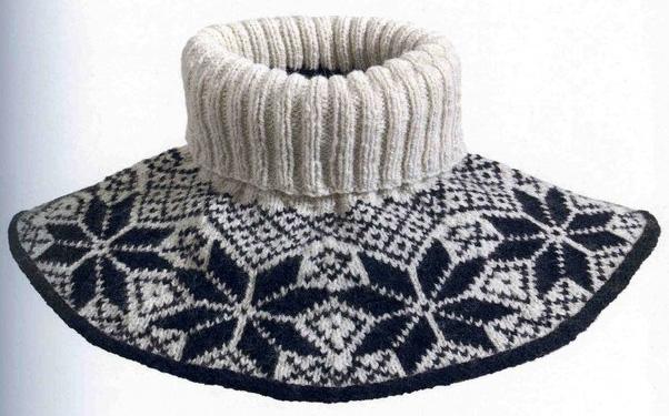 Схема вязания манишки для