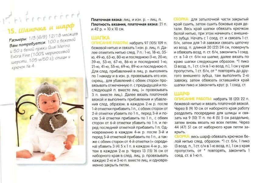 Вязание в подробном описаниидля малышей