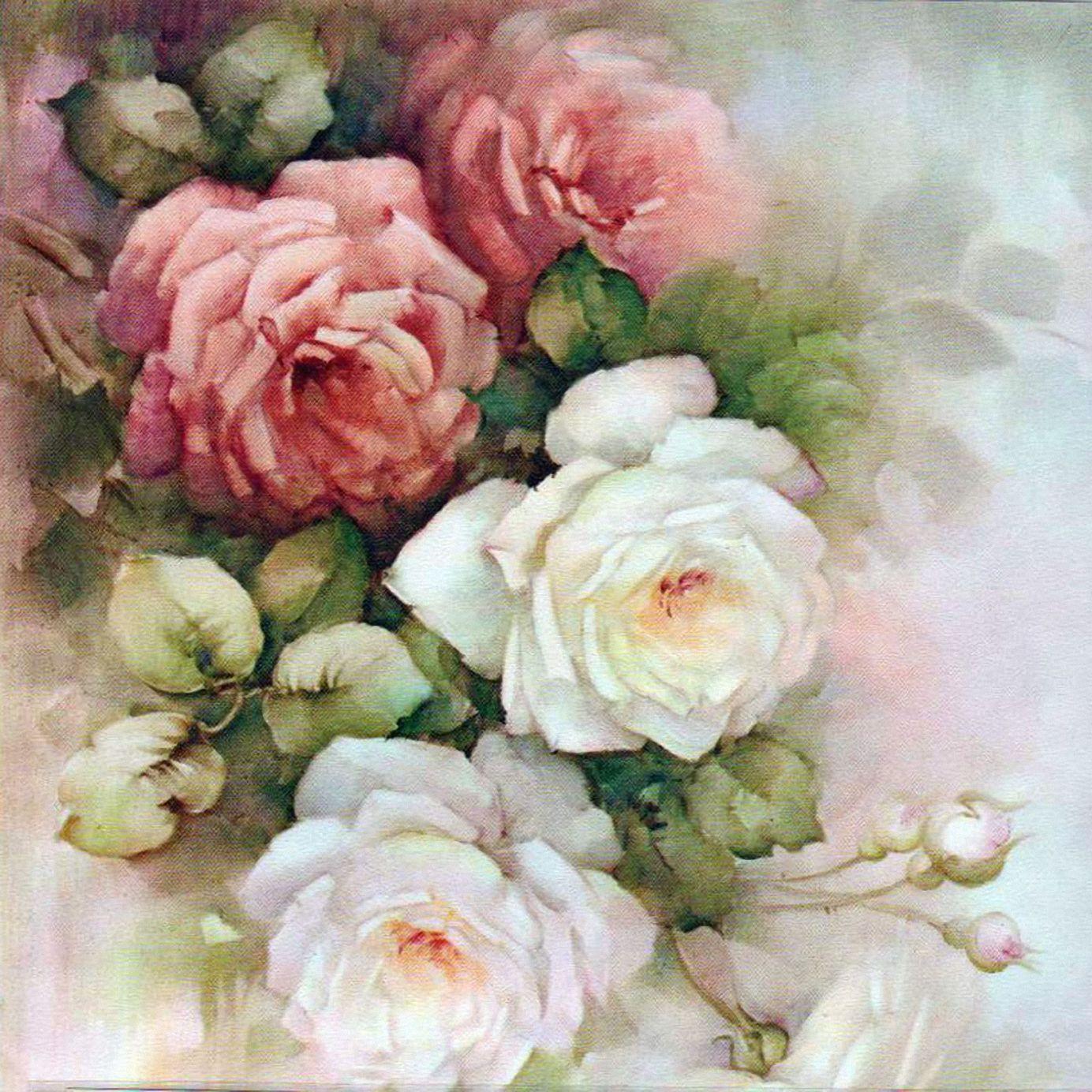 Картинки для декупажа цветочные