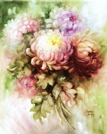 Картинки для декупажа: цветочные мотивы для работы