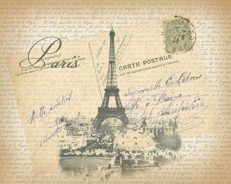 Картинки для декупажа париж фото