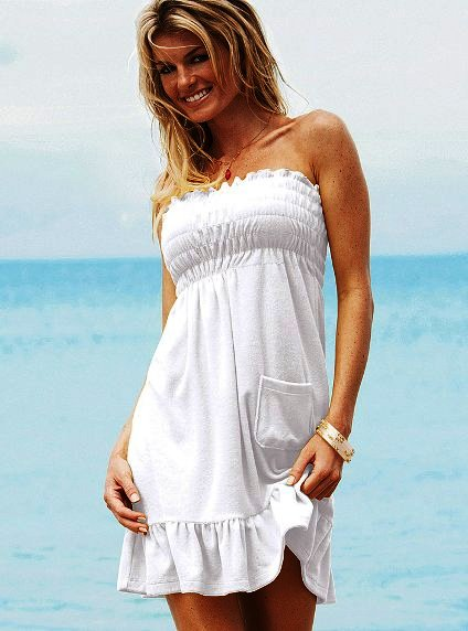 Выкройки летнего платья на резинке