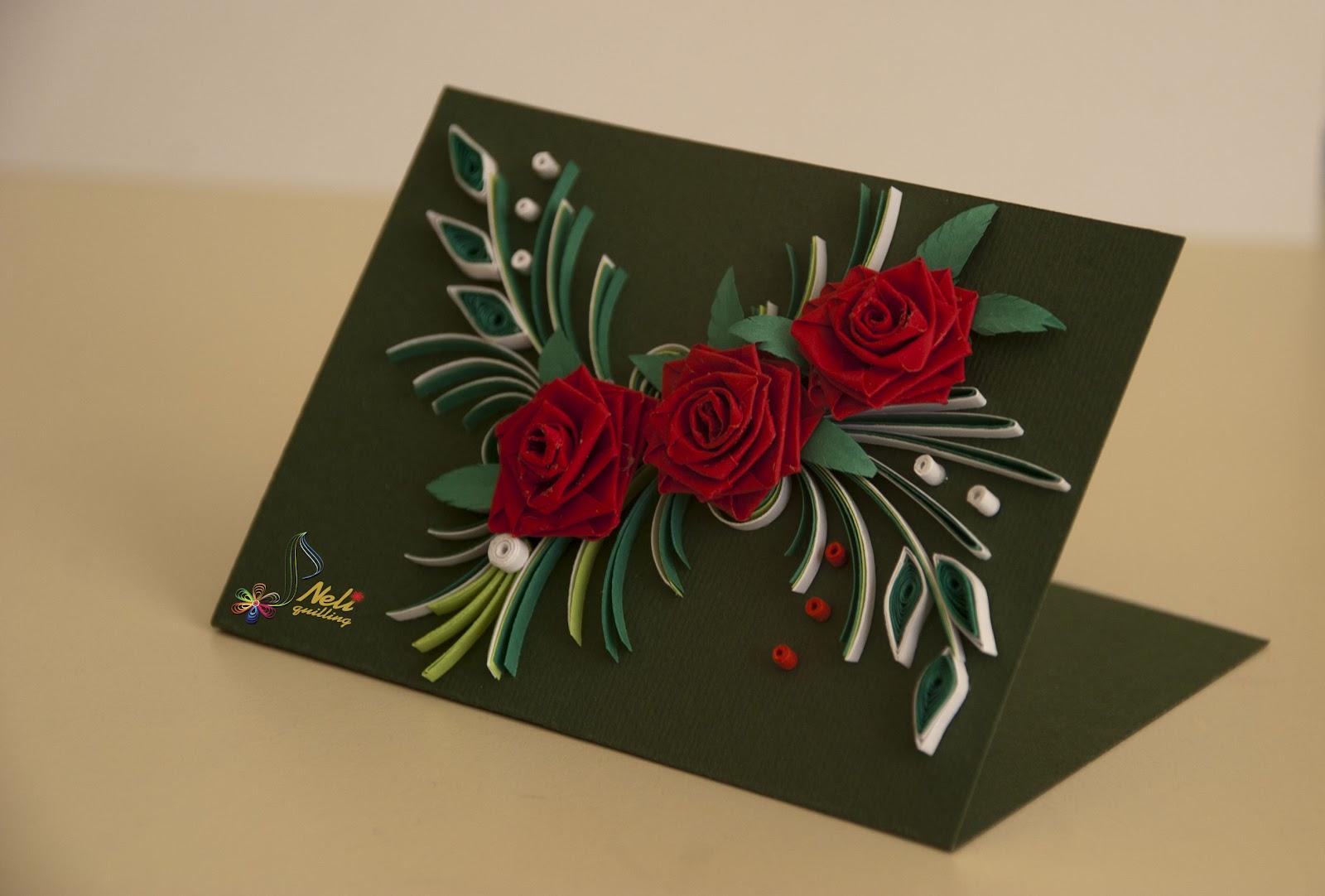 Квиллинг картинки для начинающих цветы 3